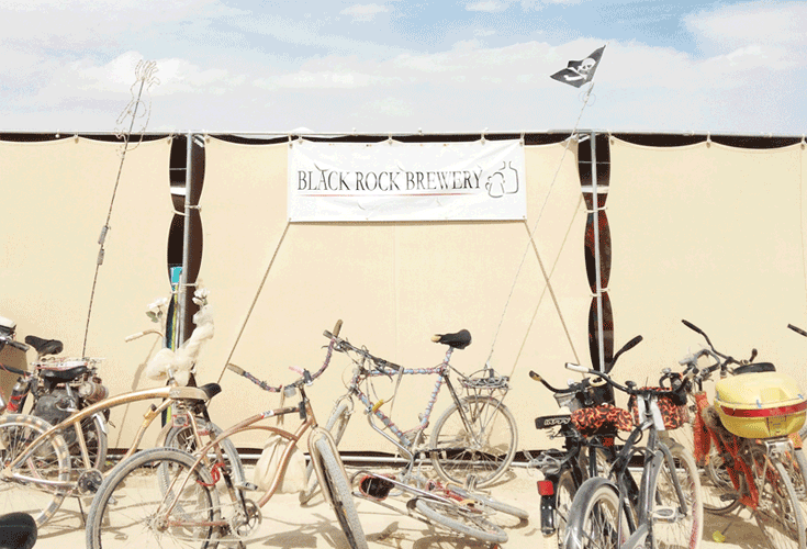 Brewed on the Desert: Homebrewing at Burning Man