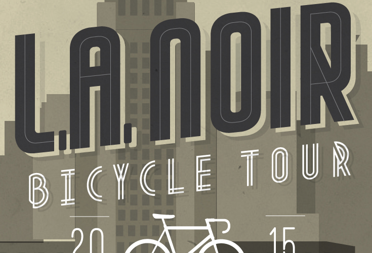 LA Noir Bicycle Ride