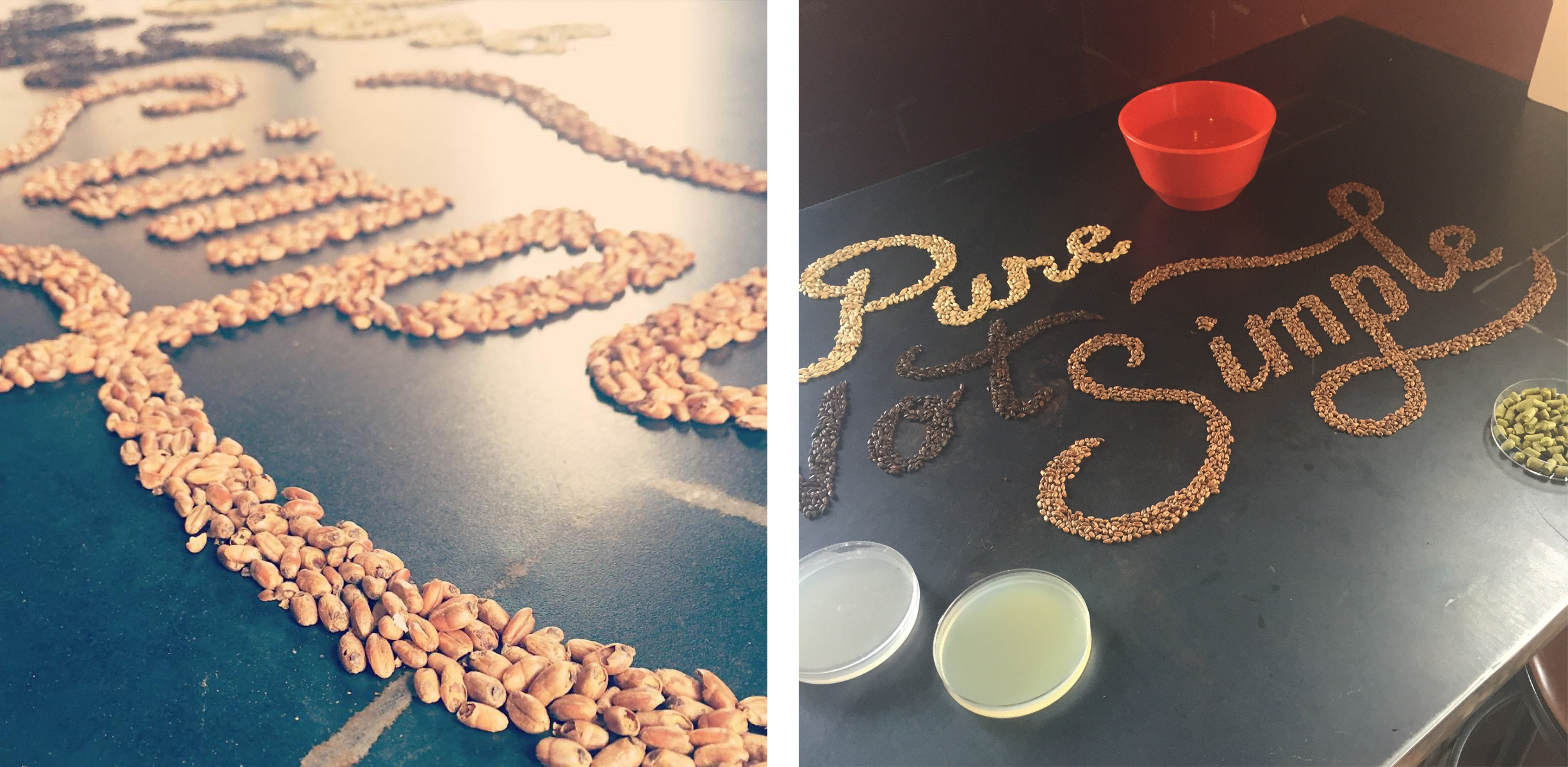 Pure, Not Simple process detail